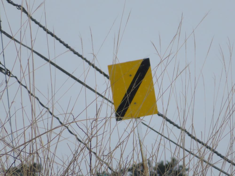 鉄道豆知識  停留所接近標