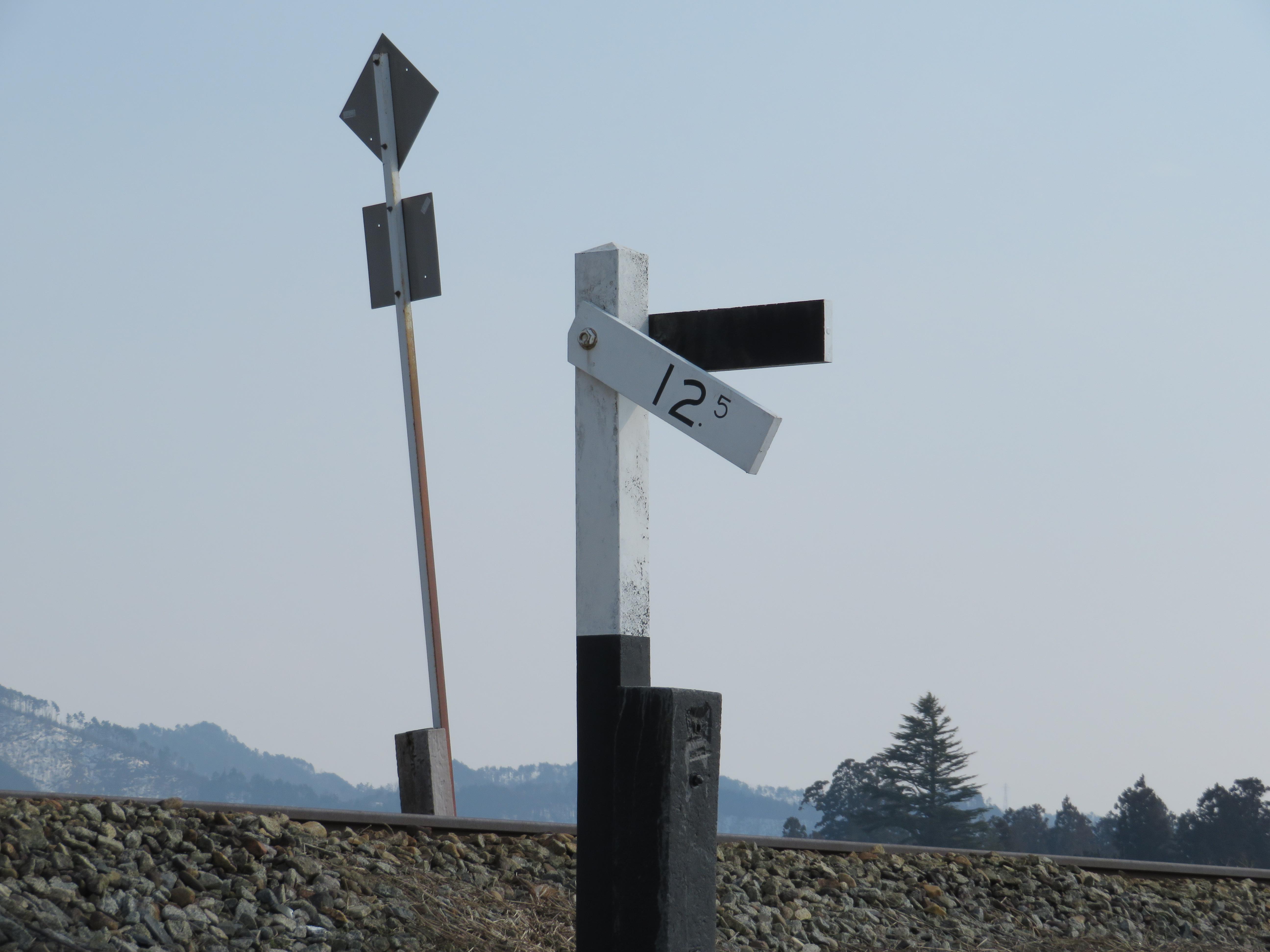 鉄道豆知識 勾配標