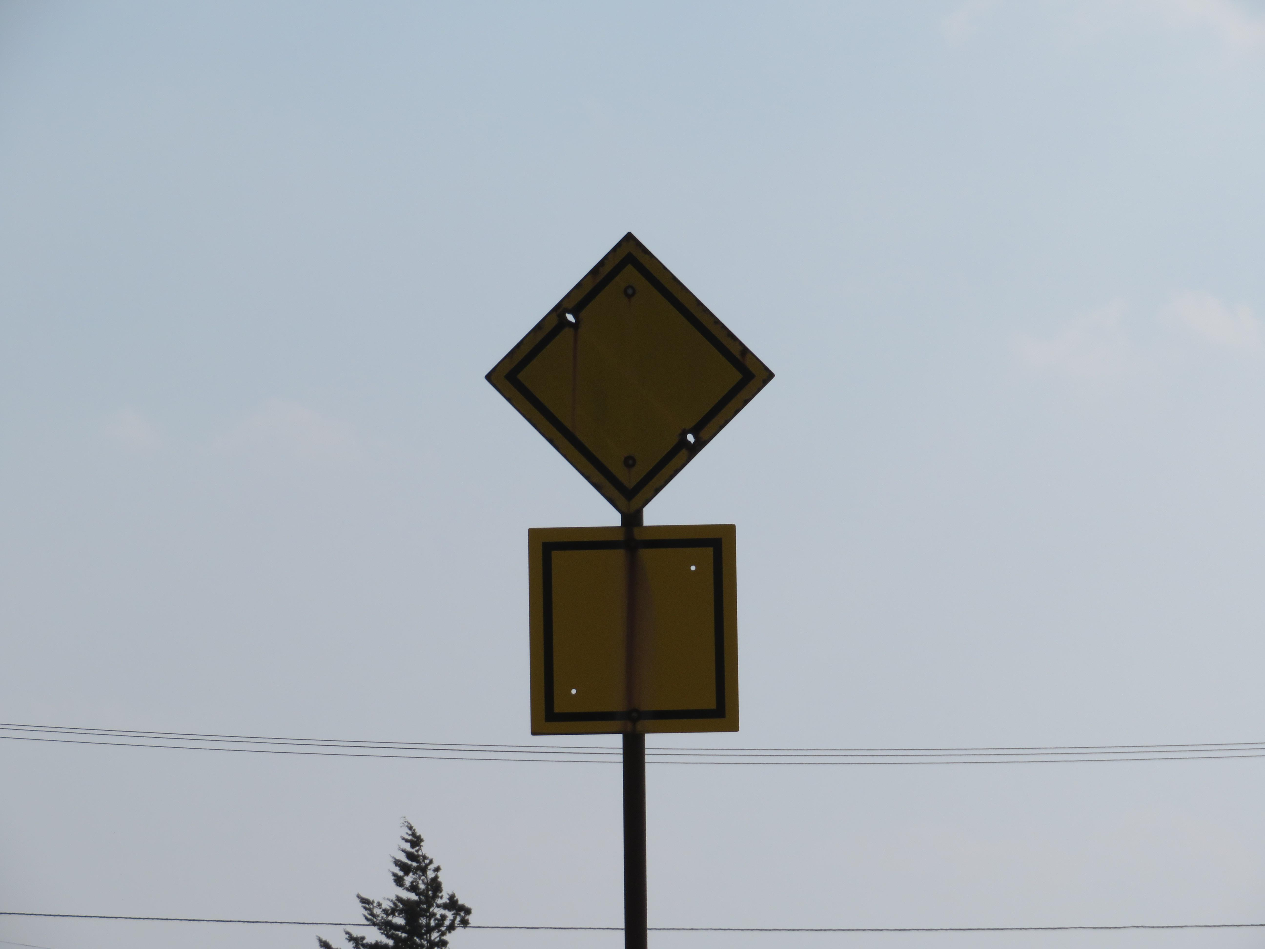 鉄道豆知識 雪かき車警標