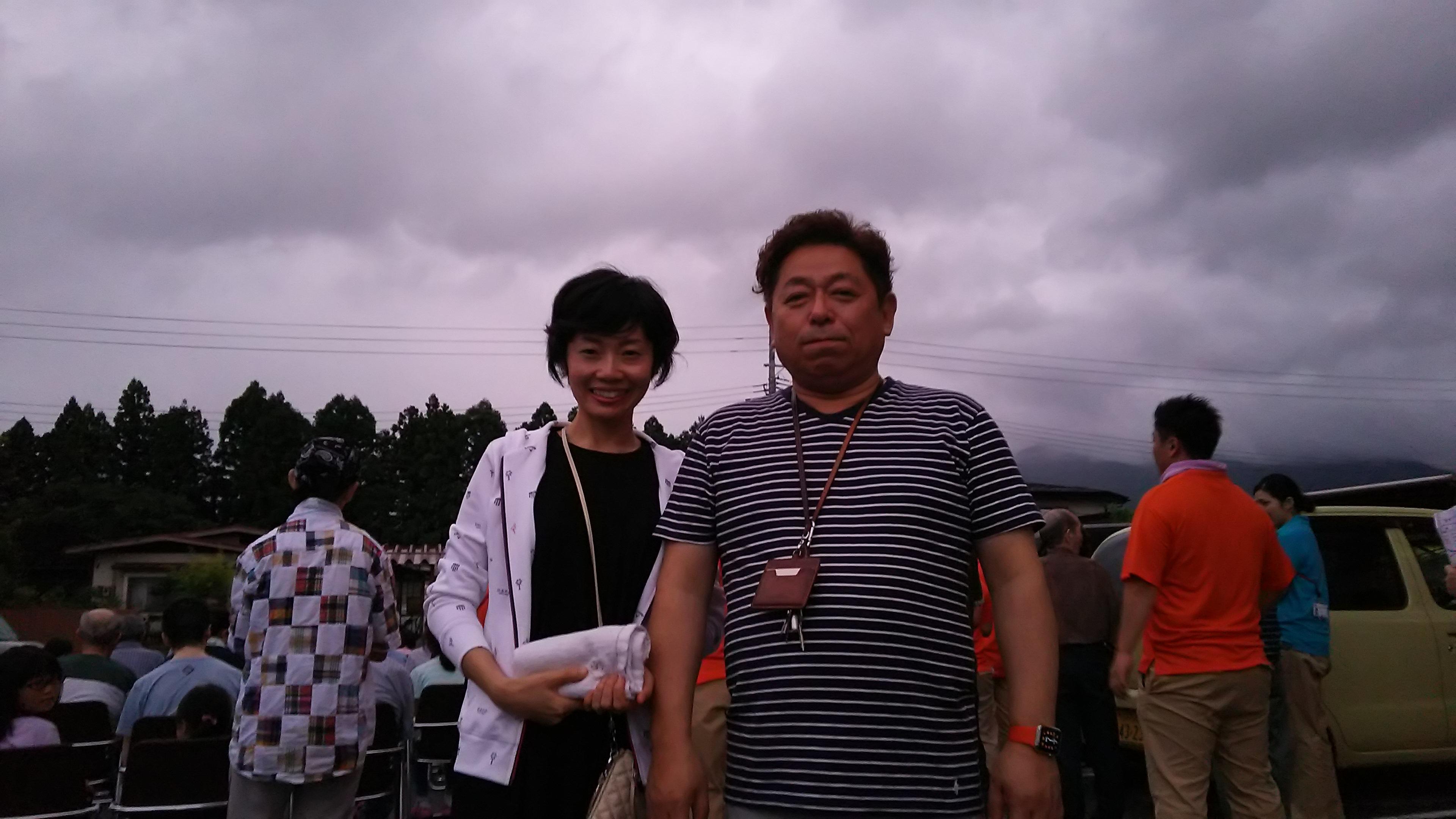 吉川病院の夏祭りです