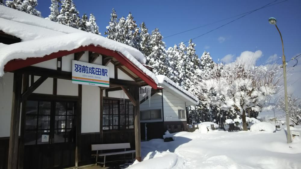 冬景色を楽しみます