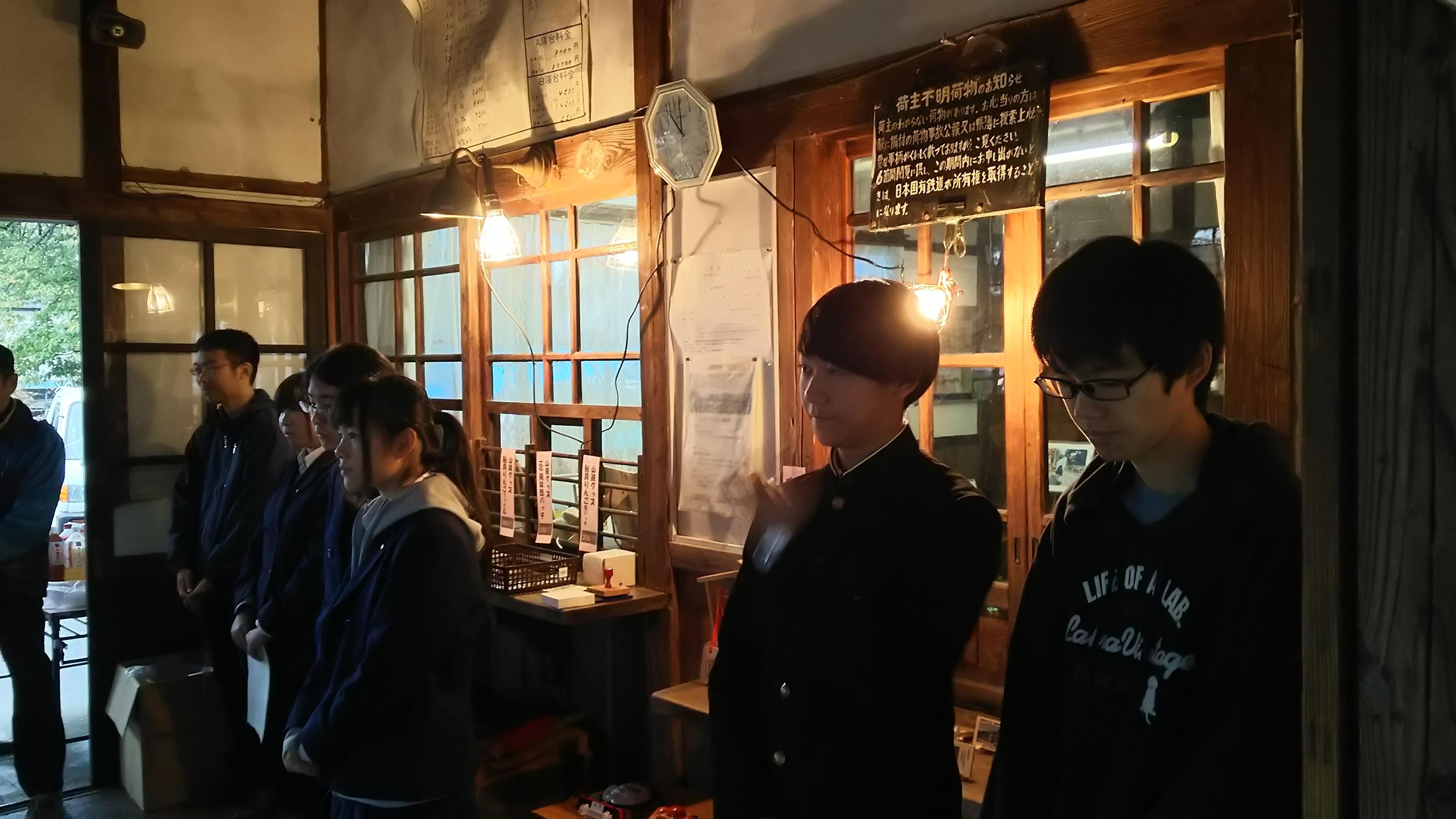 羽前成田駅がNHK「小さな旅」に