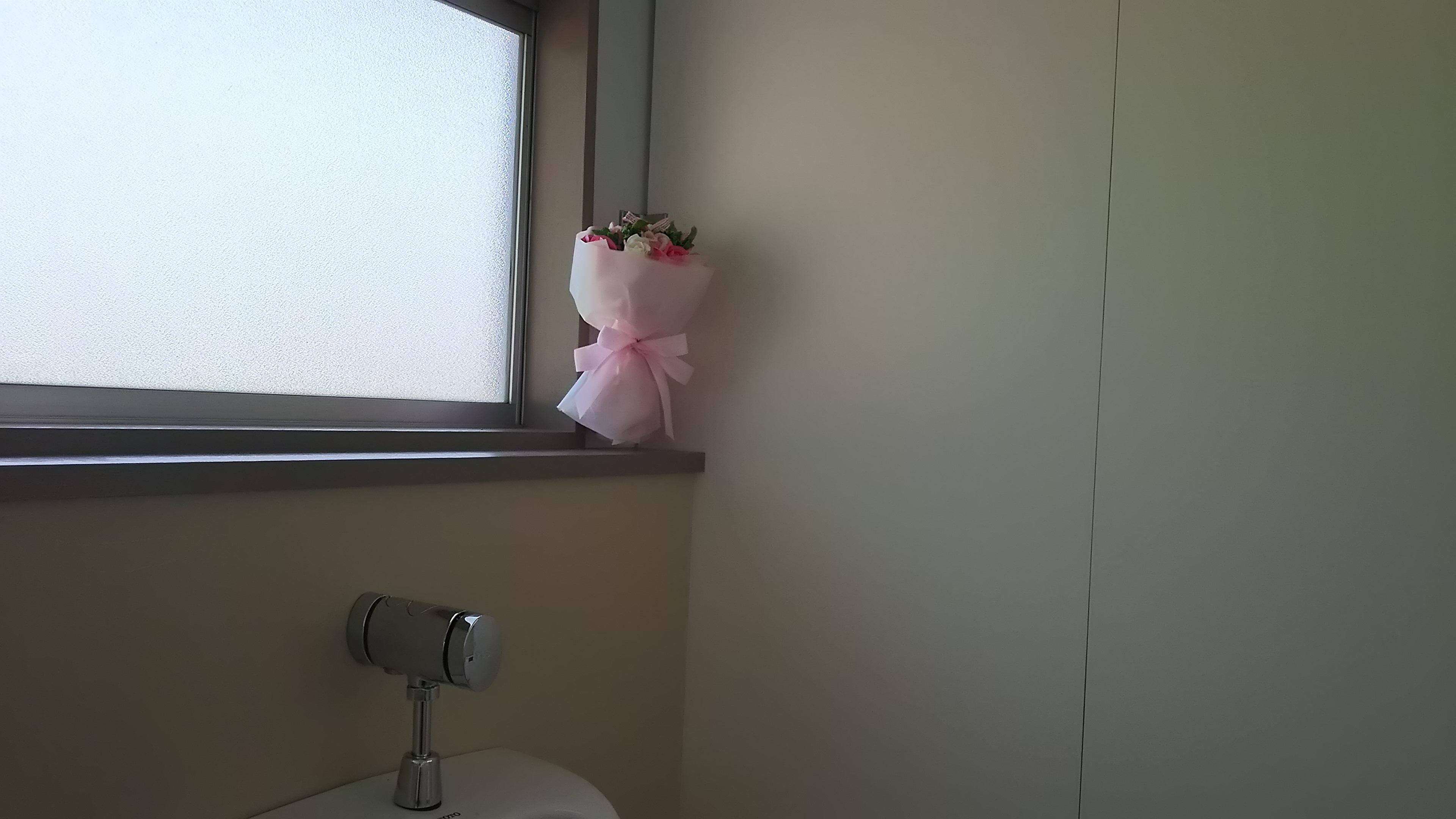 駅のトイレに感動して?!