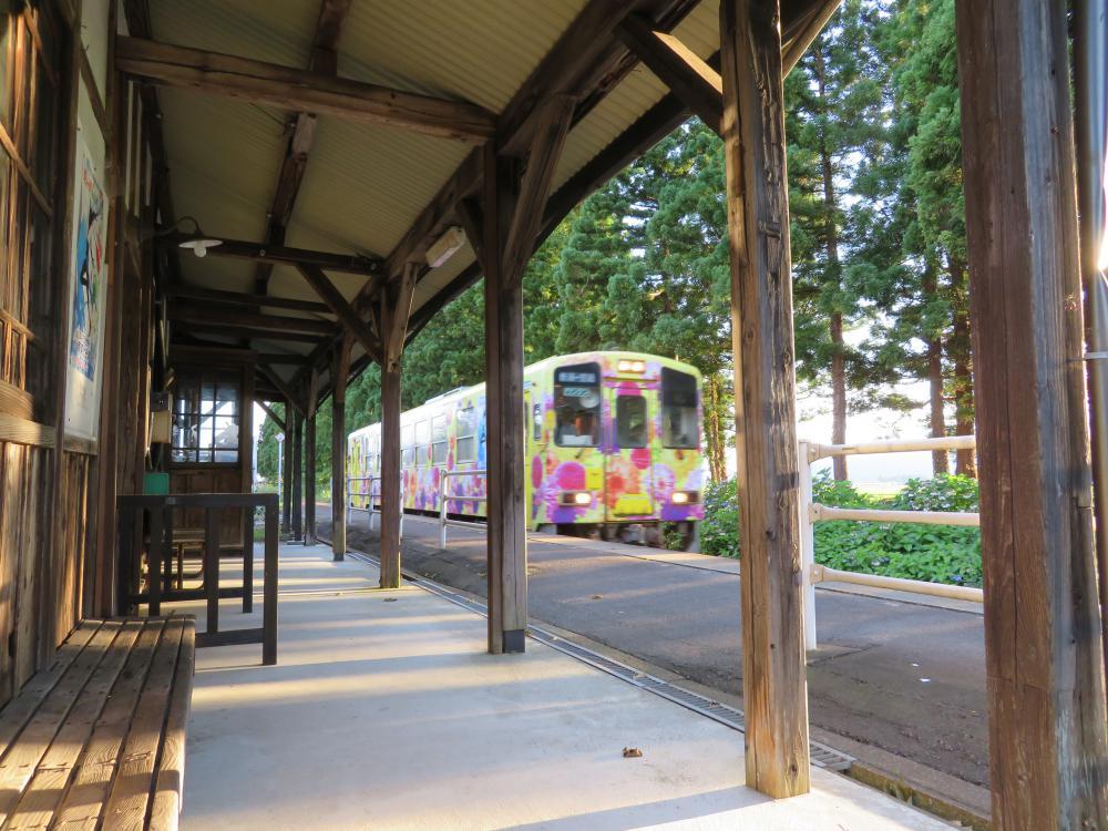 平成最後の夏の駅