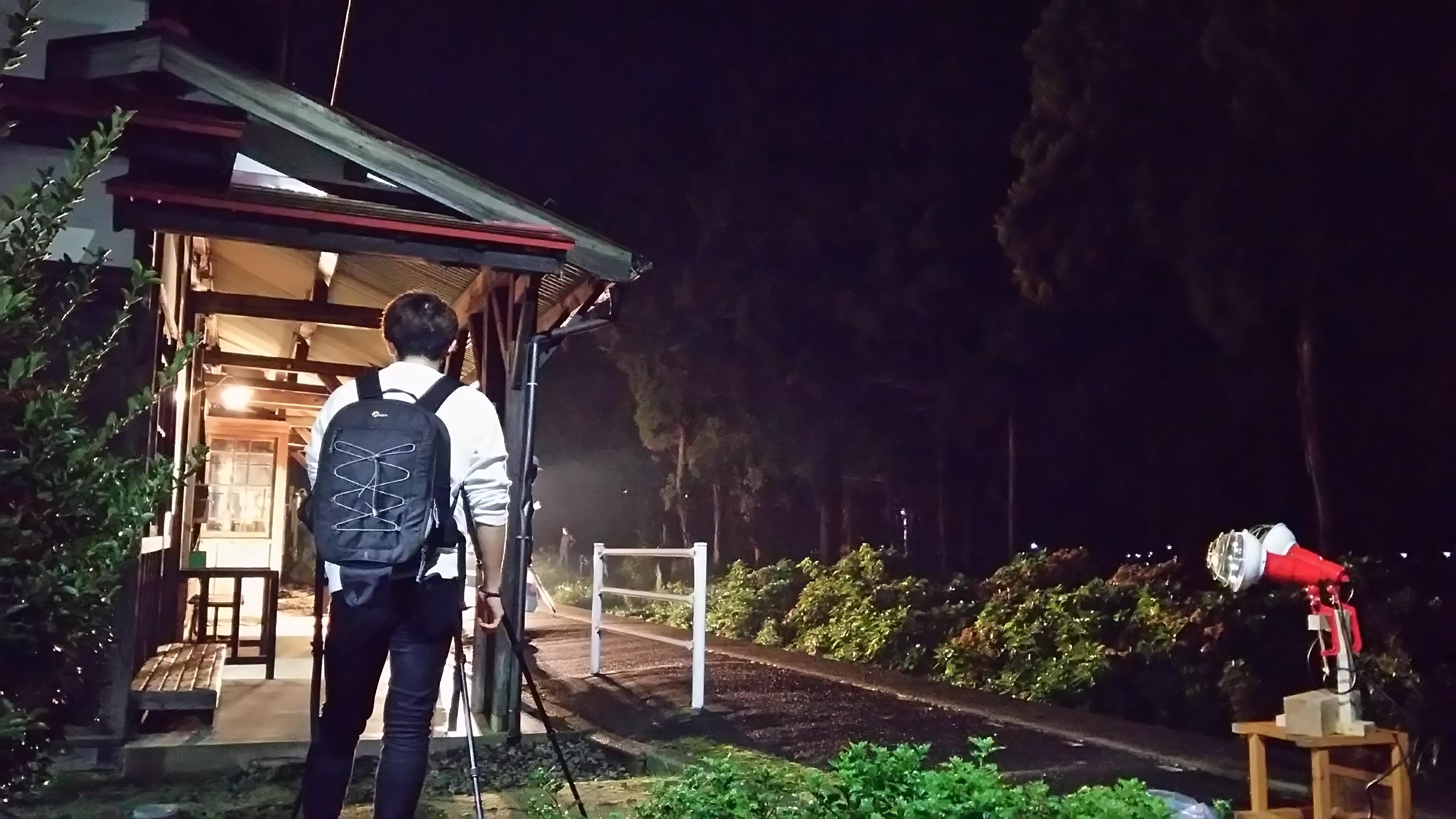 夜の撮影会ツアー