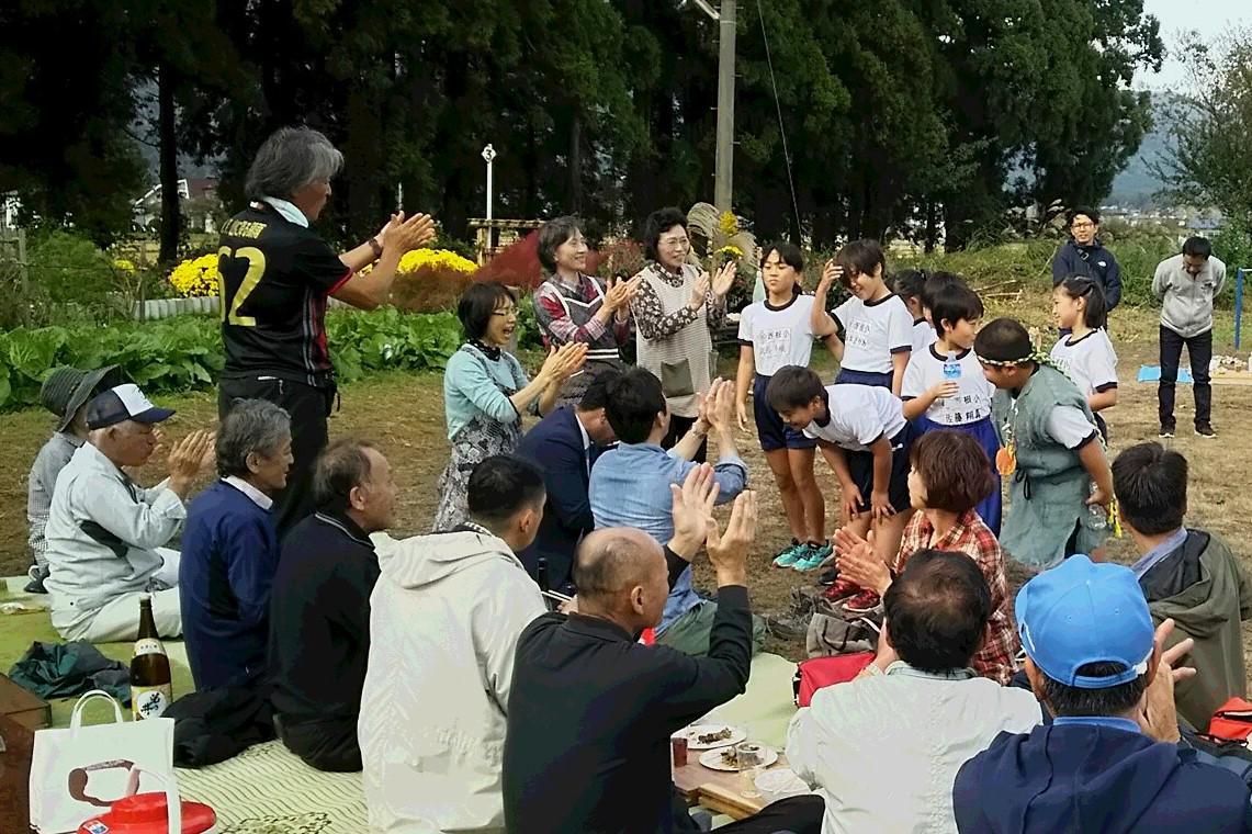 縄文太鼓の子供たち