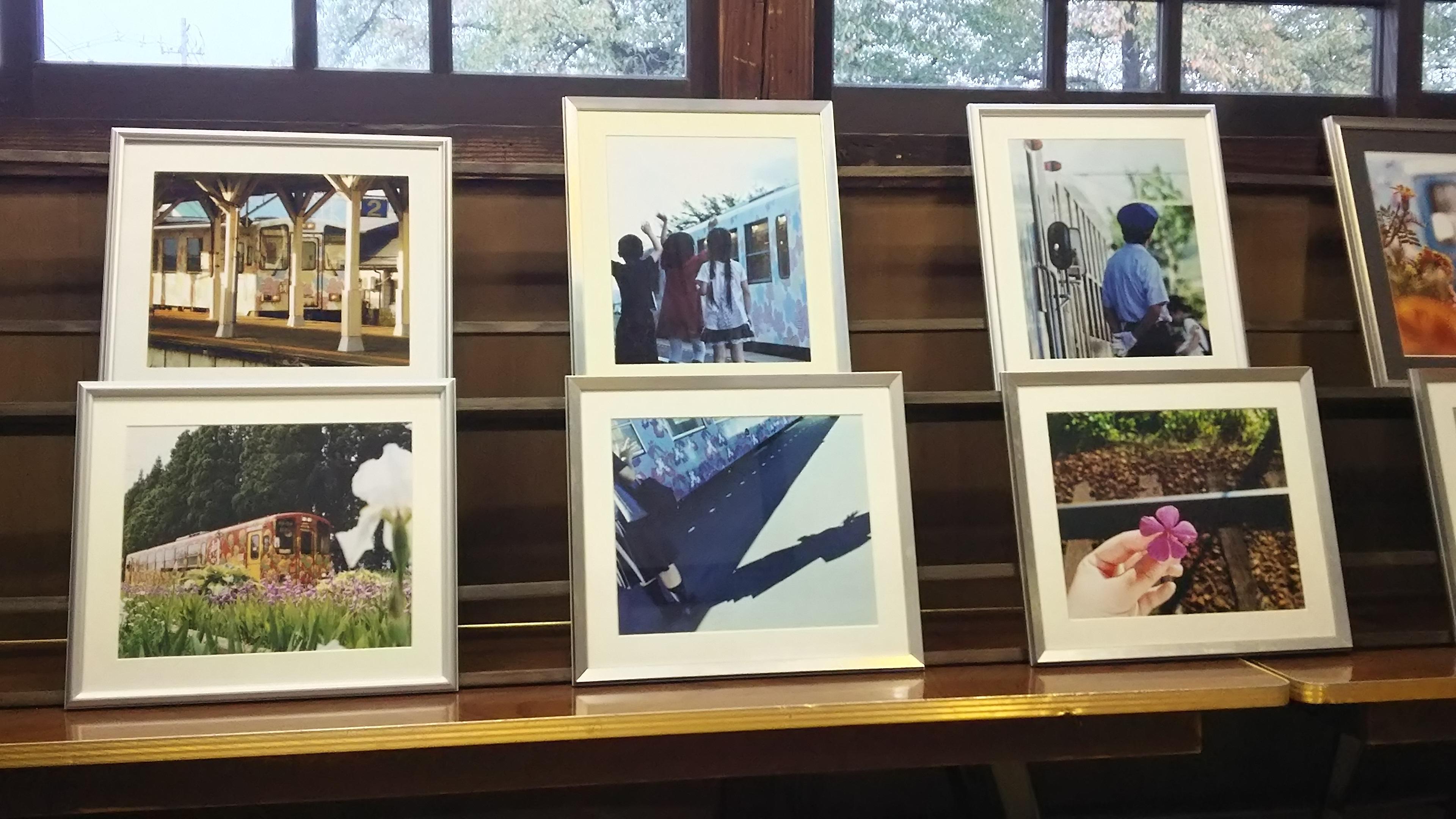 長井高校生の写真展