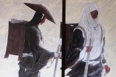 弁慶の供養塔�:画像