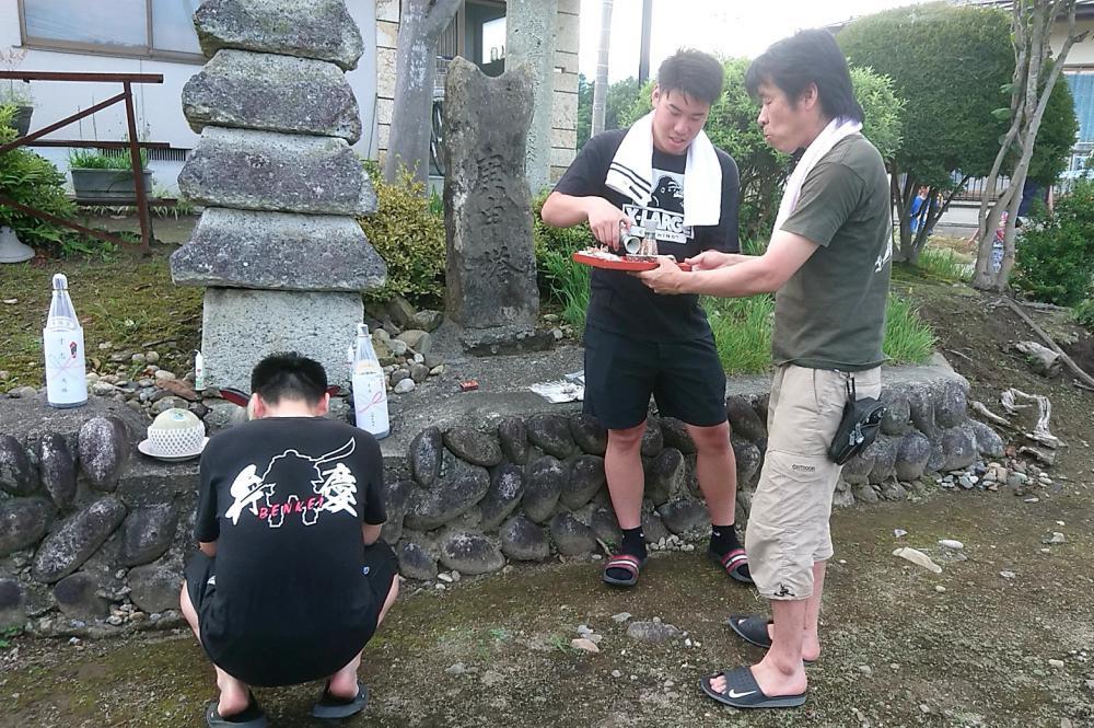 弁慶の供養塔⑨