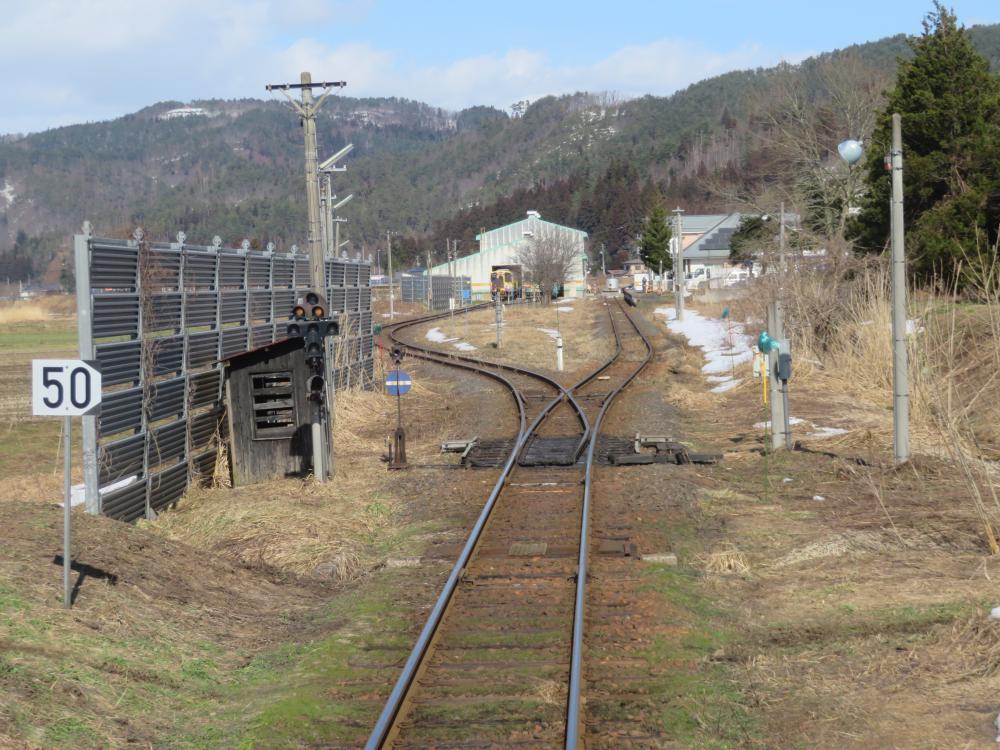 長井線リポート(8) 旅の終わりに