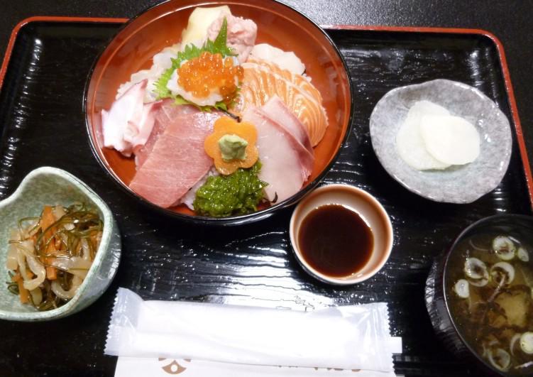 当店一押しの「海鮮丼 Bランチ!」の秘密