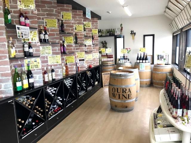 ワインショップ営業時間の変更:画像