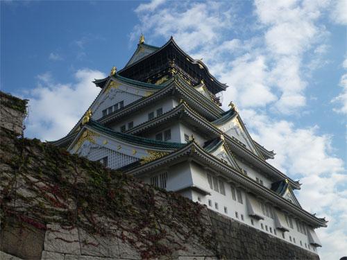 やって参りました、大阪城!