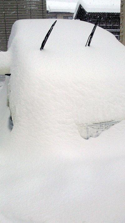 雪だるまパッソ☆-_-;)/