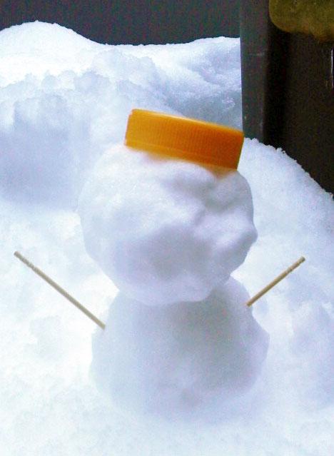 いよいよ雪景色♪