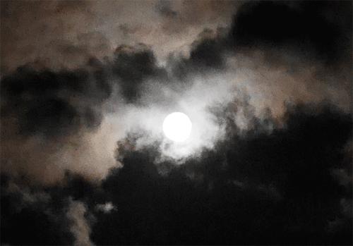 仲秋の名月~スーパームーン♪