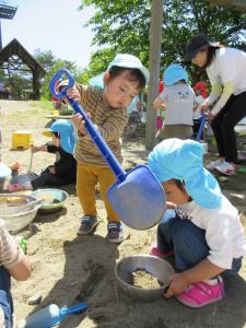 興道北部保育園であそんできました。
