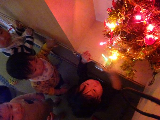 クリスマスの雰囲気 満喫中♪
