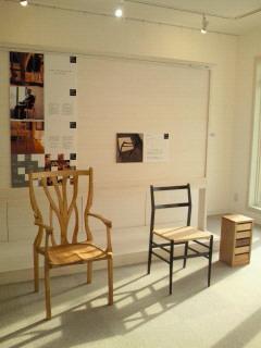 「【無料ギャラリーにて】椅子展 開催中」の画像