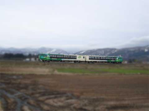 イベント列車「風っこ桜回廊号」