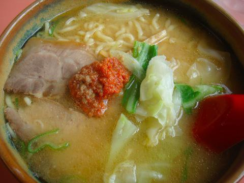 辛味噌ラーメン ( 龍上海 高畠店 )
