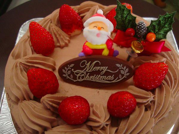 クリスマスケーキ(ふ志や菓子店)