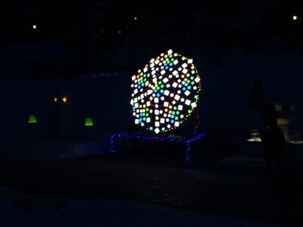 「2016 上杉雪灯篭まつり」プレ点灯