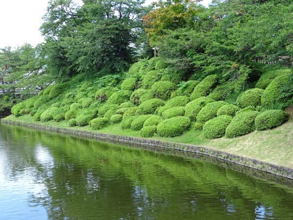 松が岬公園/上杉神社
