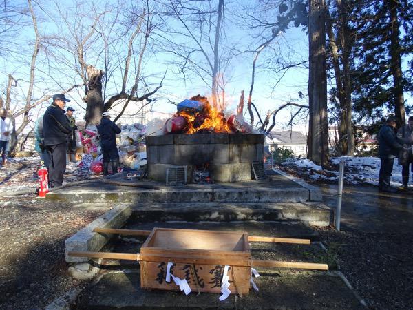 2016-12-29  古札焼納祭(上杉神社)