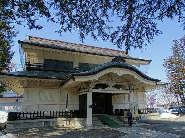 松が岬公園(上杉神社、稽照殿、上杉伯爵邸、伝国の杜)