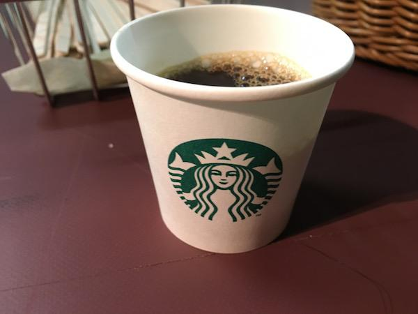 おふるまいに「スターバックスコーヒー」