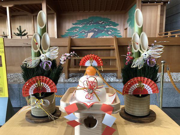 初詣(伝国の杜)