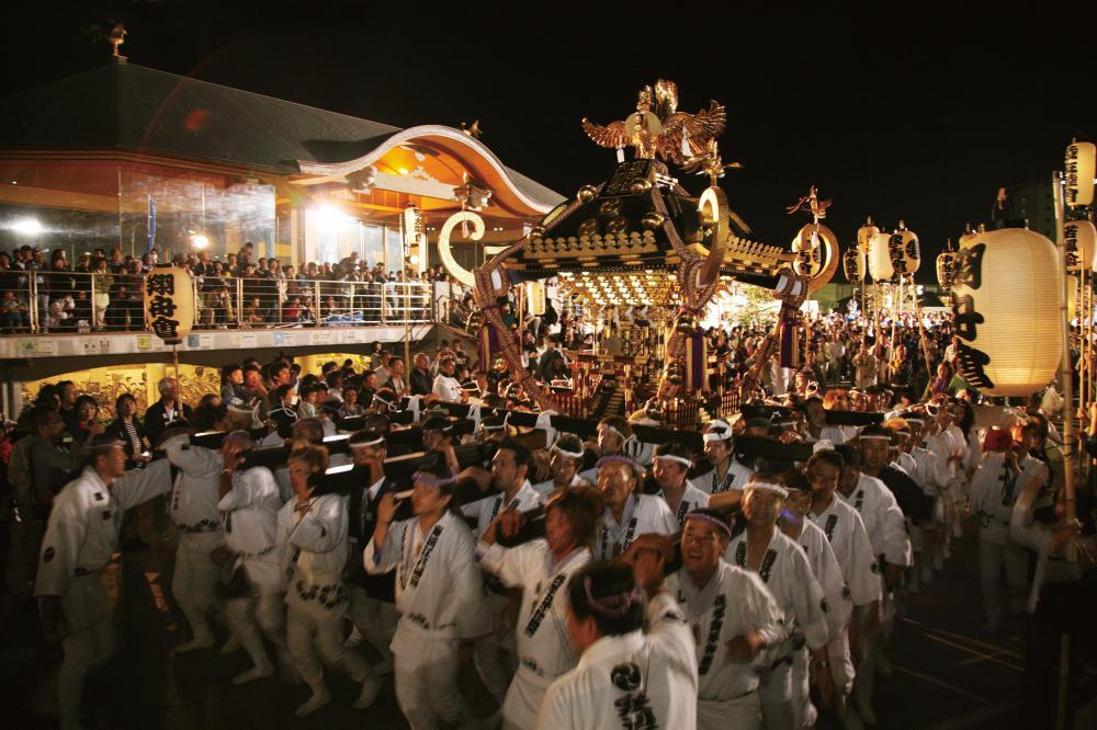 【寒河江まつり】神輿の祭典