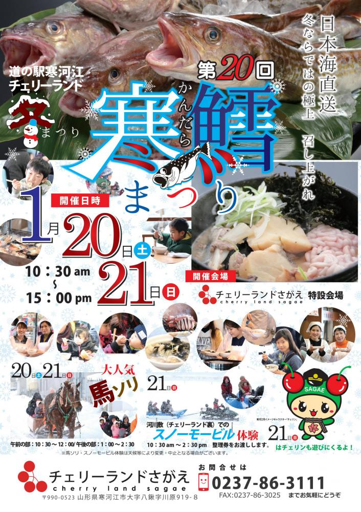 The 20th cold cod Festival: Image