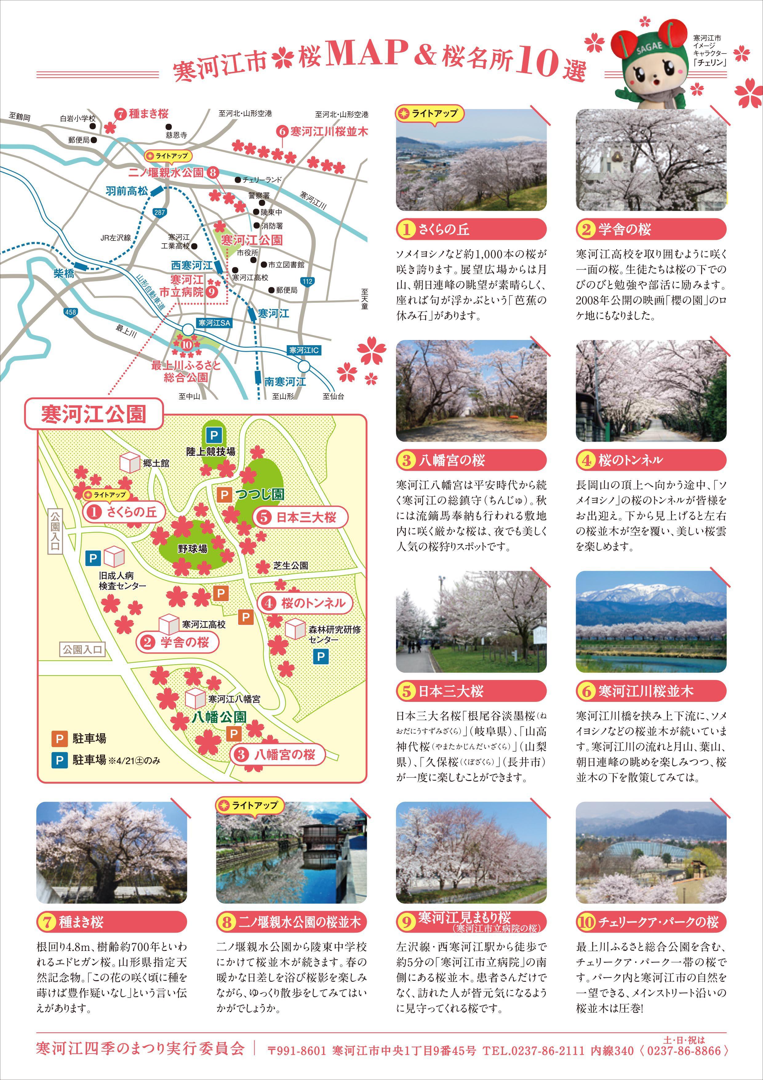 さがえ春花 桜まつり