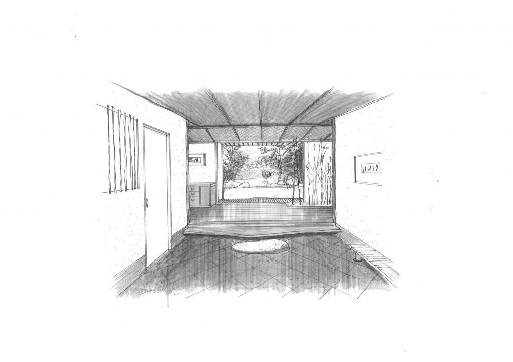 玄関。:画像