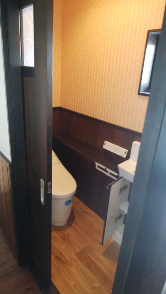 おしゃれなトイレ。:画像
