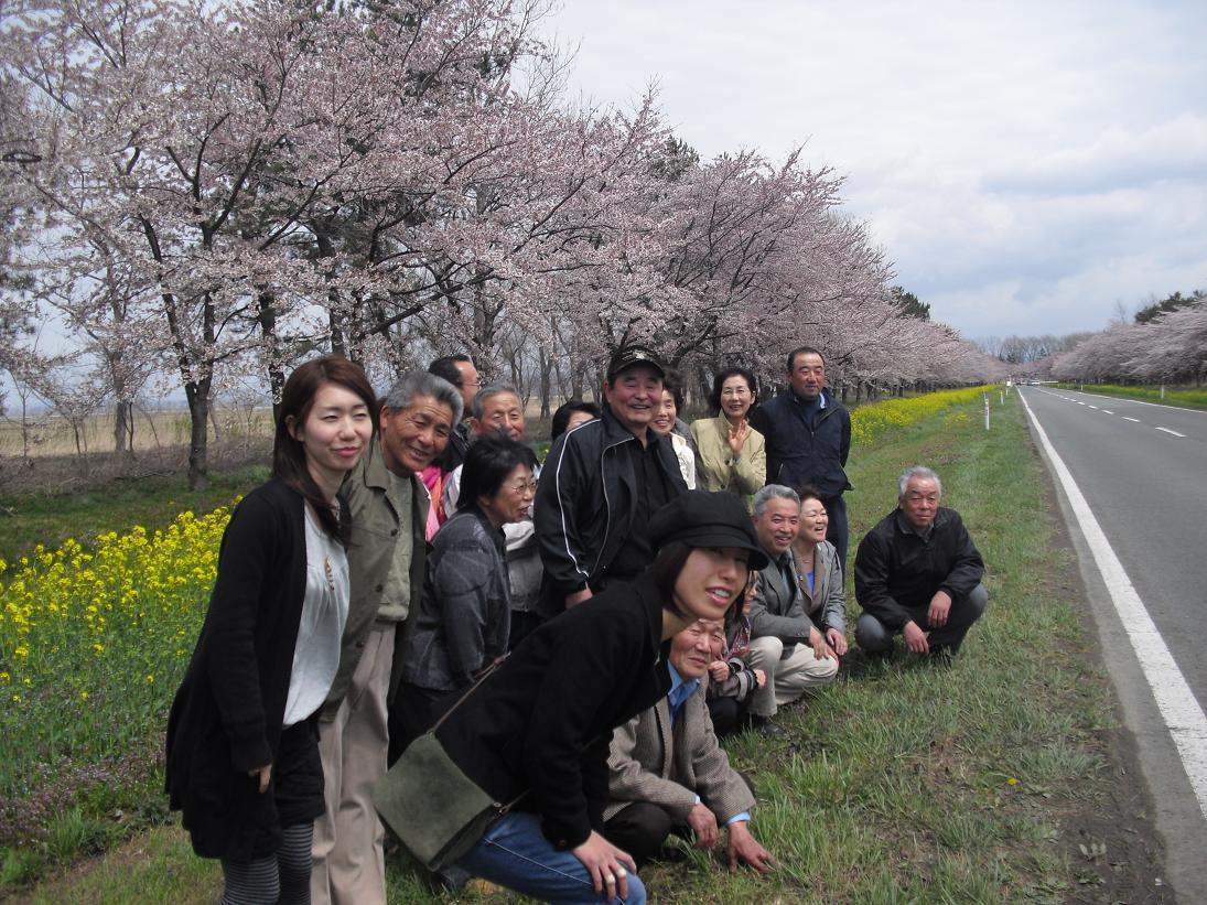 大潟村の菜の花を訪ねて