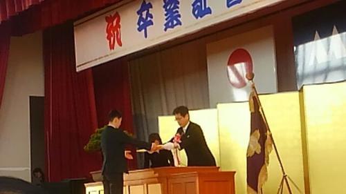 卒業式のシーズンになりました。