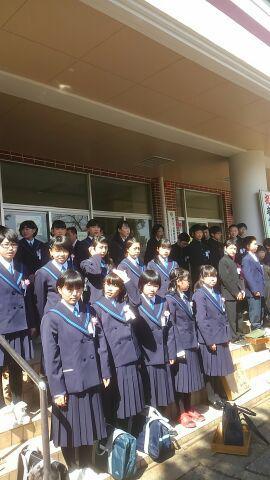 母校・西根小学校卒業式