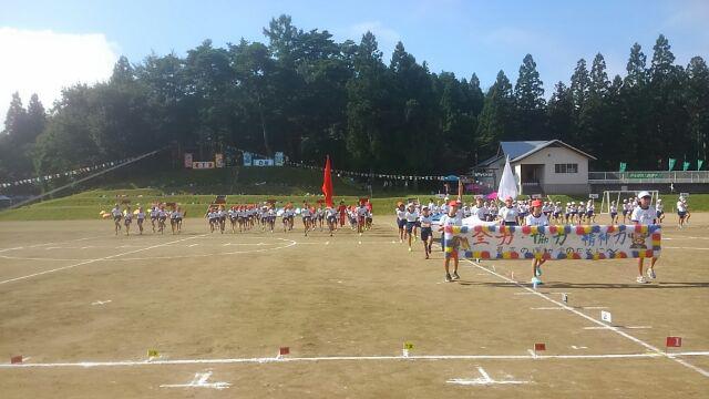 西根小学校の運動会
