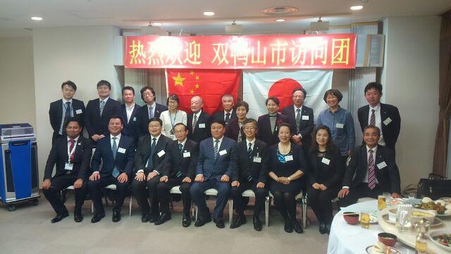 そして、中国訪問団歓迎式