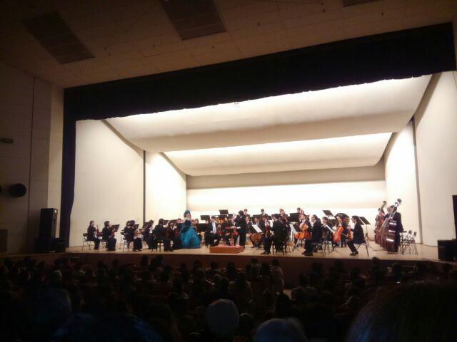 昨日、山形交響楽団コンサート2018