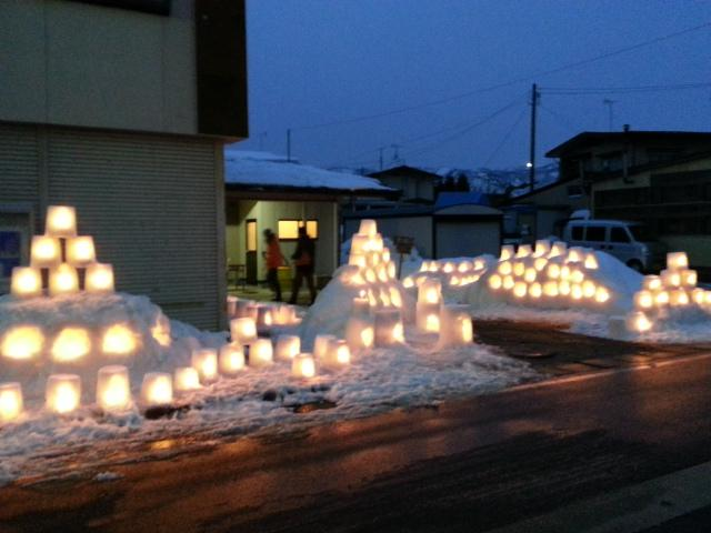 ながい雪灯り回廊まつり・大賞受賞!