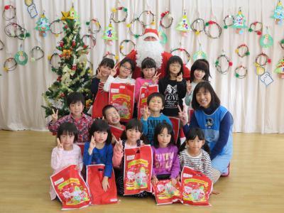 クリスマス会を行いました。