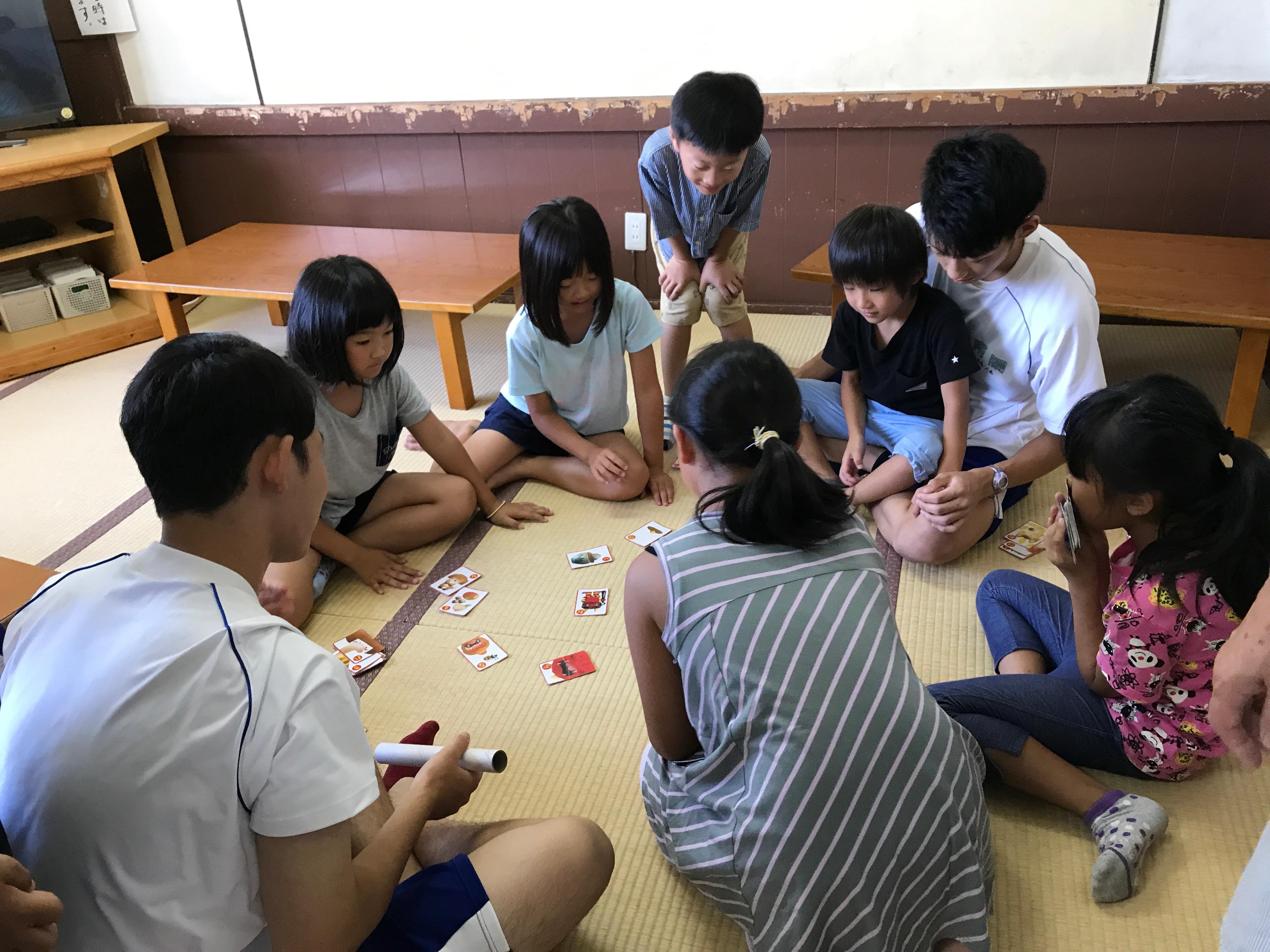 高畠町高校生ボランティアサークル地球の「夏の体験ボランティア」:画像
