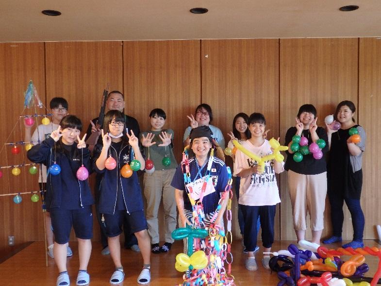 SAKEKKOの「夏休みフェスタ in さけがわ」(夏の体験ボランティア)