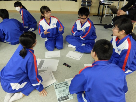 村山教育事務所の「西川町立西川中学校ボランティア出前講座」:画像