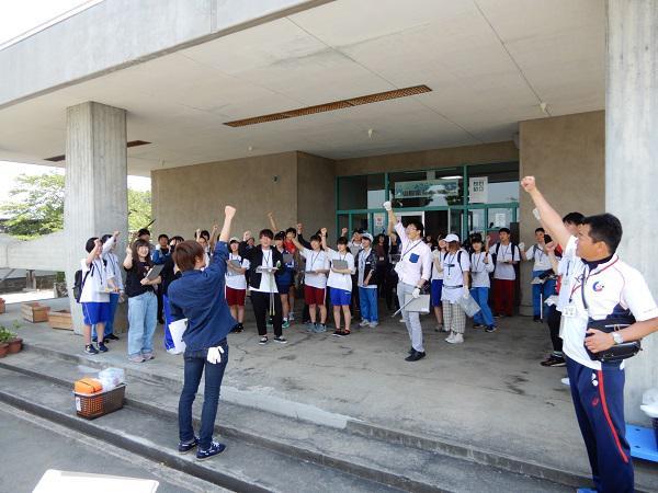 山形県青年の家体験講座�『舞鶴山でスポGOMI!』