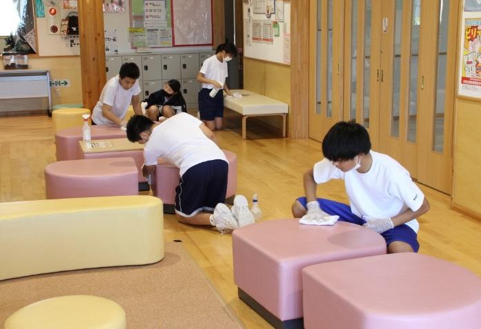 「くじら」の2020子どもセンターボランティア:画像